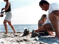 Urlaub am Strand in Dänemark